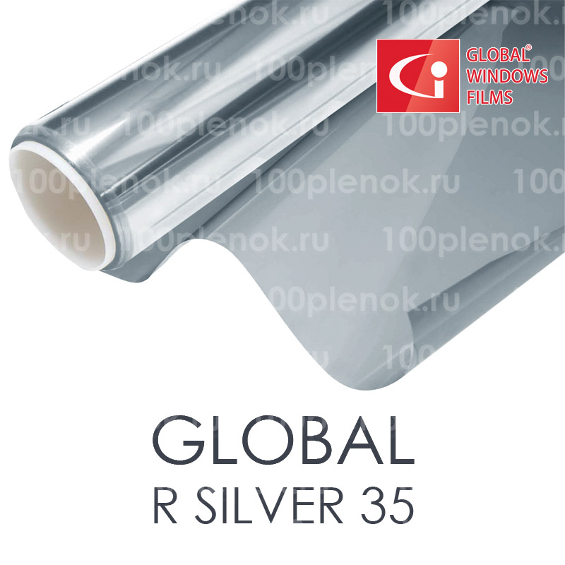 Тонировочная пленка Global R Silver 35 1