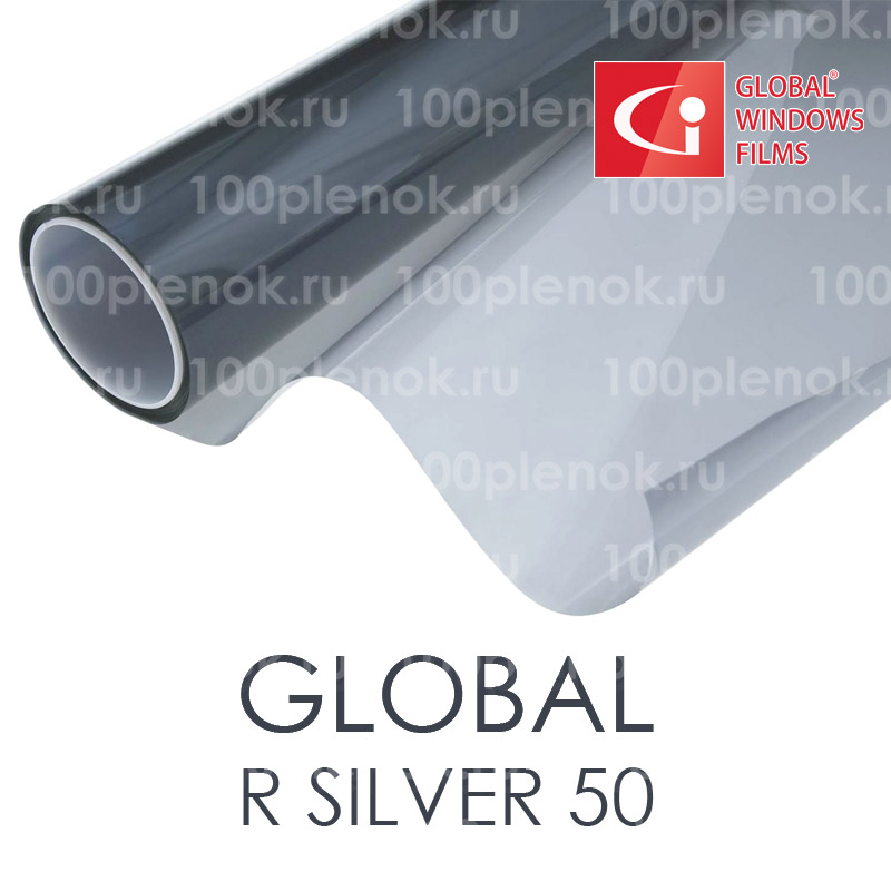 Тонировочная пленка Global R Silver 50 1