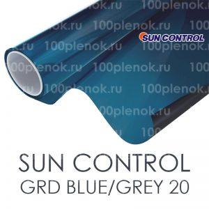 Тонировочная пленка с переходом цвета Sun Control GRD Blue/Grey 20(50)