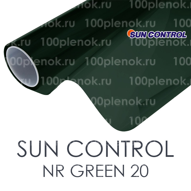 Тонировочная пленка Sun Control NR Green 20 1