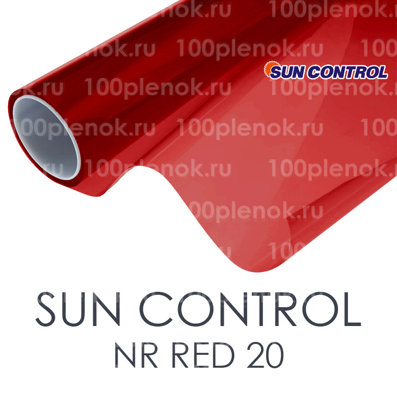 Тонировочная пленка Sun Control NR Red 20 1