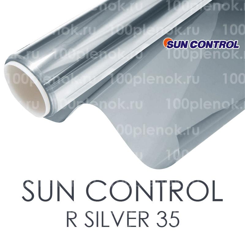 Зеркальная тонировочная пленка Sun Control R Silver 35 1